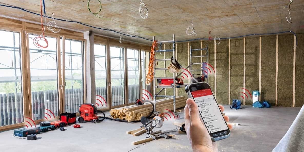 With the introduction of Active Tracking with Bluetooth technology, Hilti's ON!Track asset management system is set to bring major new savings and efficiencies to the construction industry.